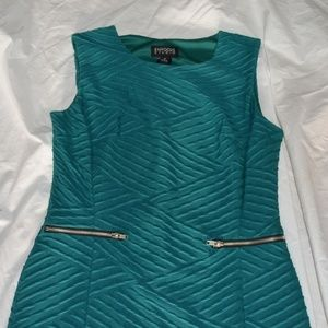 New Enfocus Teal Green Dress Cute Fit Size 4